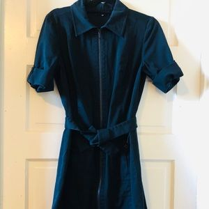 Gorgeous Navy Structured Dress from Lafayette 148